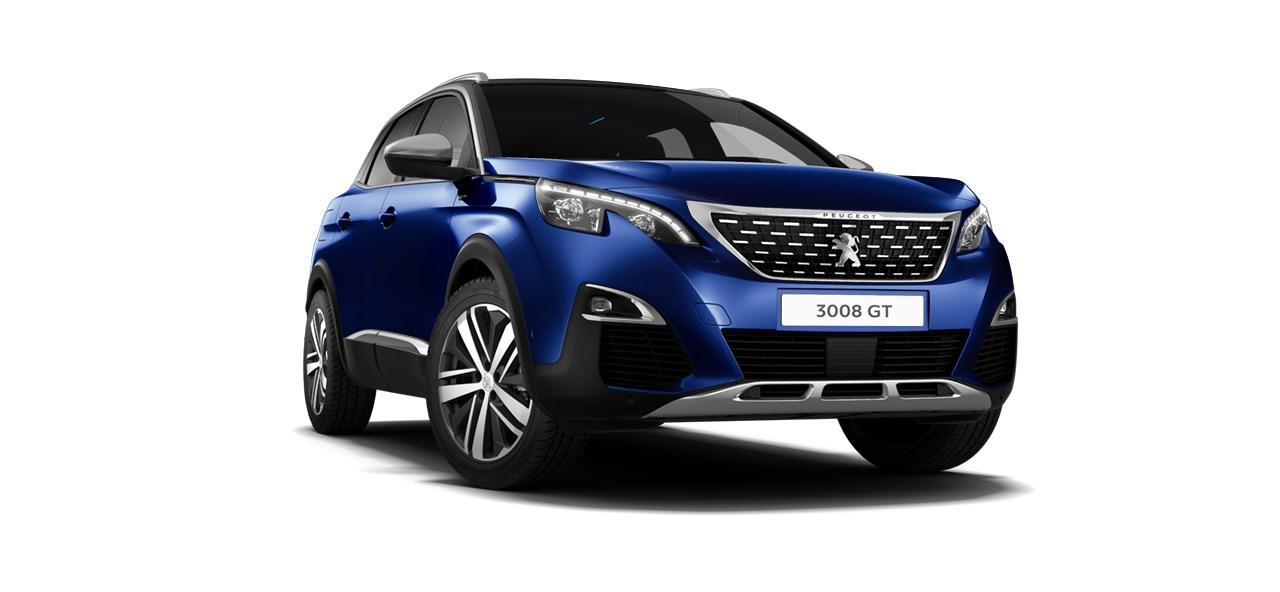 Peugeot 3008 GT BlueHDi 180 EAT8-automaatti