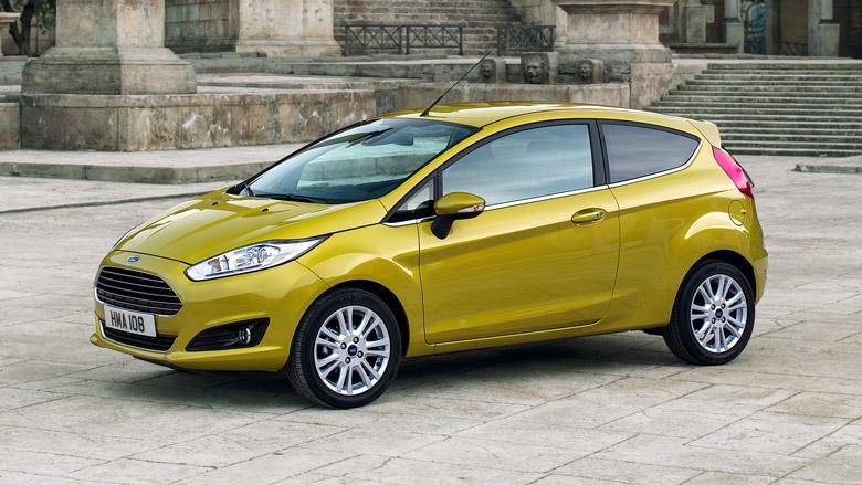 Ford Fiesta 1,0 80hv Start/Stop M5 Titanium 3-ovinen