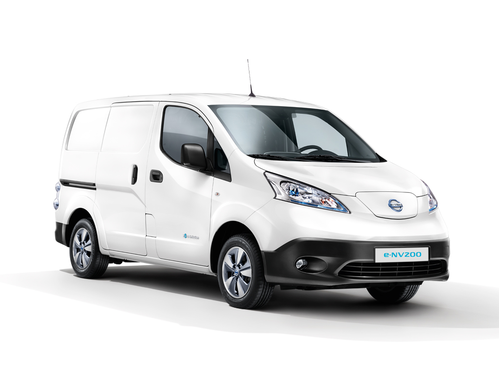 Nissan e-NV200 Van A/T Comfort Plus 40 kWh Blind FD Blind DSD FI