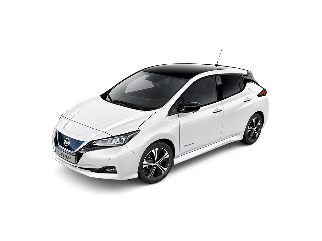 Nissan Leaf Tekna MY19,5 40 kWh Leather Ultrasuede ProPilot Park FI