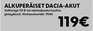 Dacia akku