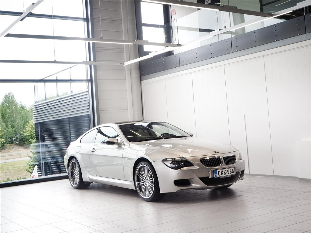 "BMW 630 i E63 Coupé Aut + Nahat + TV + Xenon + Tutkat + 20"" alut *** Korkotarjous 0,9%* / Kasko 150€**"