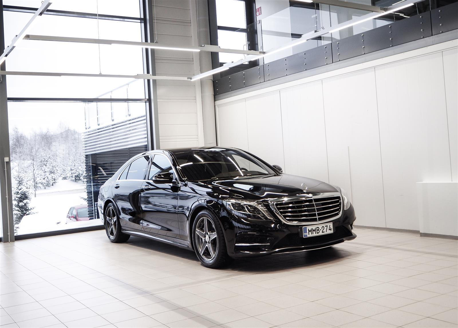 Mercedes-Benz S 350 BlueTec Lang AMG Exclusive Designo Aut + Webasto + Huippuvarusteet!