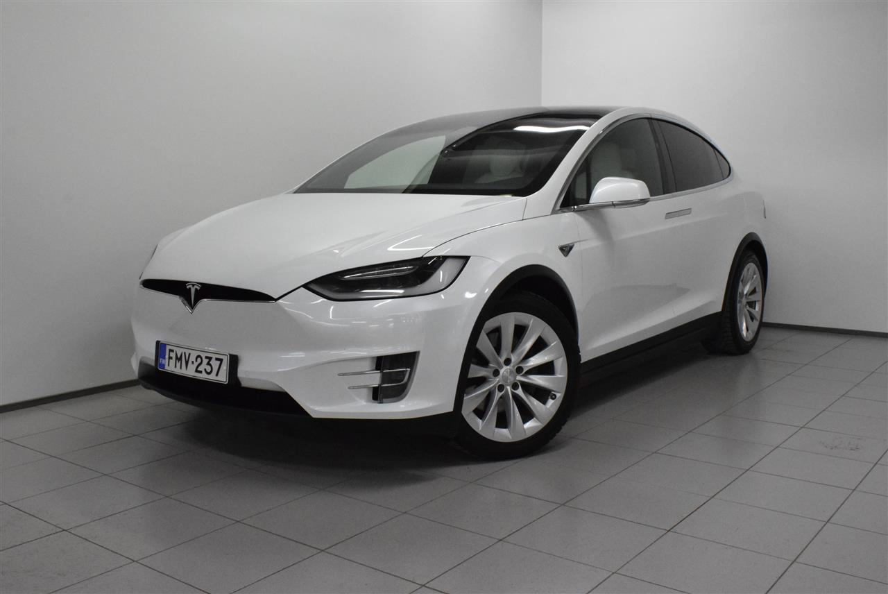 Tesla Model X 90 D *Premium, Autopilot, Vetokoukku*