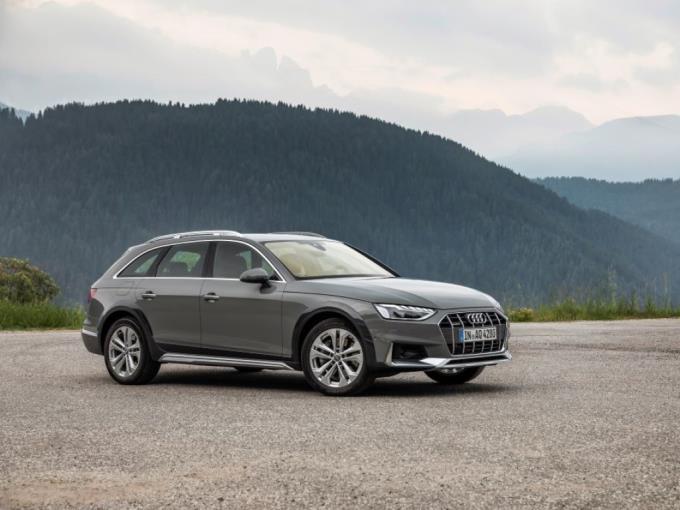 tehtaanmyymälä virallinen toimittaja tilata Audi A4 allroad quattro Business 45 TFSI 180kW MHEV quattro ...