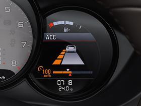 Adaptiivinen vakionopeudensäädin ja Porsche Active Safe (PAS)