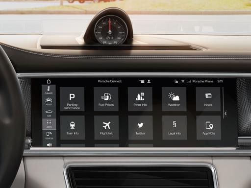 Uusi Porsche Communication Management (PCM)