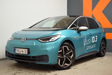 Volkswagen ID3 1ST PLUS 150 kW, akku 58 kWh, automaatti